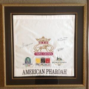 American Pharoah Triple Crown winner